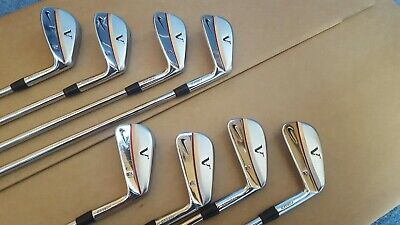 Nike TW Tiger Woods VR Forged Irons 3-PW, stiff Shafts, Golf Pride grips