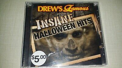 Halloween Music With Sound Effects (INSANE HALLOWEEN HITS CD WITH SPOOKY SOUND EFFECTS MUSIC ALBUM SONGS 17 TRACKS)