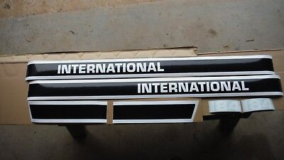 International Cub Lo Boy 184 Hood Decals. See Details And Pictures