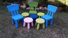 CHILDRENS CHAIRS & STOOLS Nedlands Nedlands Area Preview