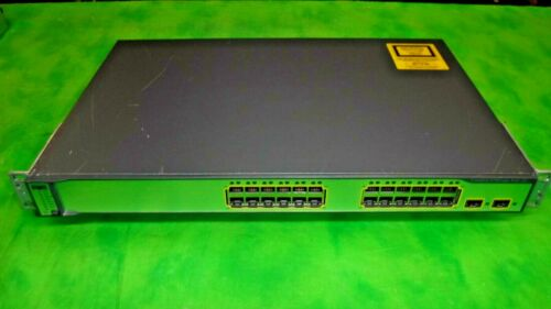 Cisco Catalyst 3750 Poe-24 Ws-c3750-24ps-e V06 24-port Ethernet Switch 4#