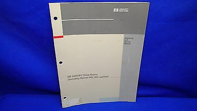 Hp 346abc Noise Source Inc. Opts 001 002 004 Operating Service Manual