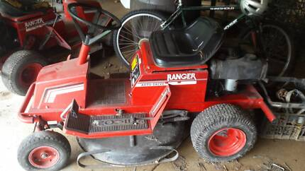 Ranger rover ride on mowers 2 x mowers