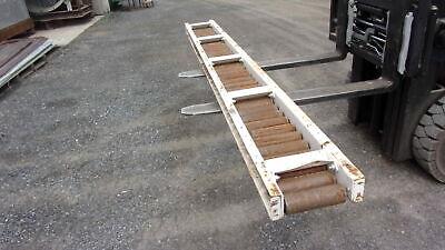 Hytrol Gravity Conveyor 10 L X 12.5 W Roller Size 8 L X 2 38 D
