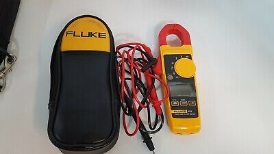 Fluke 325 True Rms Clamp Meter With Leads And Case
