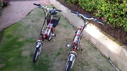Two 24v folding electric bikes. New batteries.  Manjimup Manjimup Area Preview