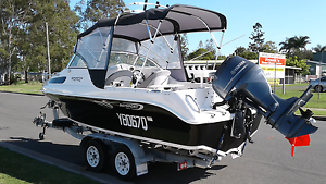 BAYSPORT 585 yamaha f115 68hrs only 2013 model package Pialba Fraser Coast Preview
