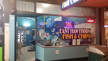 Fish and chips for sale
