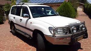 2003 Toyota LandCruiser Wagon Dual Fuel Belimbla Park Wollondilly Area Preview