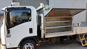 2010 ISUZU NPR 300 MEDIUM SITEC 155 DROPSIDE TRAY/SERVICE TRUCK. Noosaville Noosa Area Preview