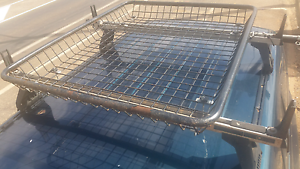 Rhino roof racks + roof basket Adelaide River Finniss Area Preview