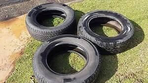 3 x Used Tyres 245/65/17 Cooper and Nexen Milperra Bankstown Area Preview