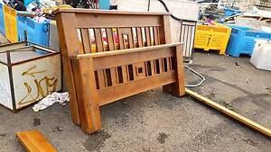 Queen Bed Frame Timber Hardwood Geelong Geelong City Preview