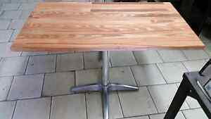 Victorian ash solid timber cafe tables 1050x600 Commercial cateri Northcote Darebin Area Preview