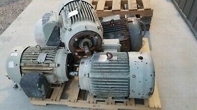 Baldor 30hp Electric Motor 1755rpm 230460vac 3ph 286tc