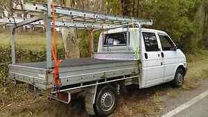 1997 t4 2.4 diesel Volkswagen transporter dual cab chassi Cooranbong Lake Macquarie Area Preview