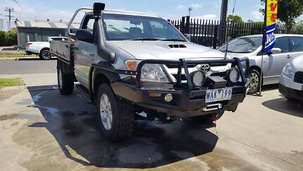 2006 Toyota Hilux Single Cab Ute 4X4 TURBO DIESEL LOTS OF EXTRAS Williamstown North Hobsons Bay Area Preview