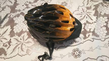 Bicycle Helmet - Kmart Large Orange Adult Zenith Helmet