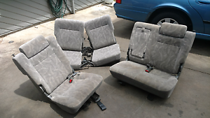 Holden jackaroo rear seats and +2 at the back Petrie Pine Rivers Area Preview