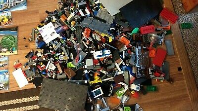 Lego Lot 19lbs With Books of  Lego Citys  sets no boxes 75.00