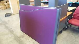 MAROON PARTITIONING - work office privacy screen freestanding Murarrie Brisbane South East Preview