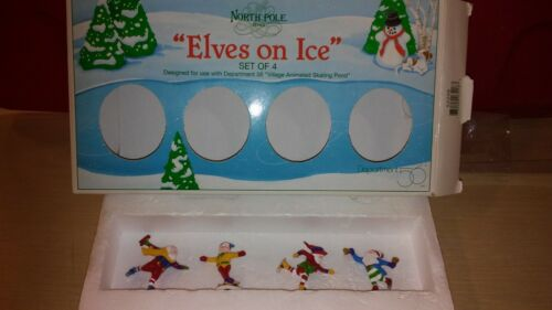 """Department 56 """"Elves On Ice"""" #52298"""
