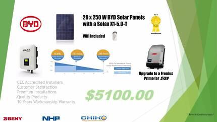 5 KW Solar System (Premium Installer)