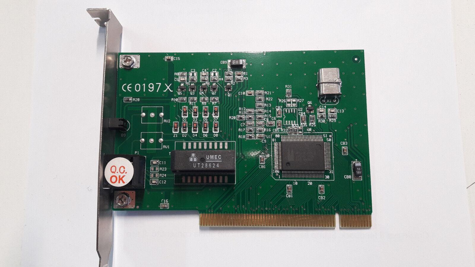 MODEM ISDN PCI CHIP HFC-S - 1 PORTA S0