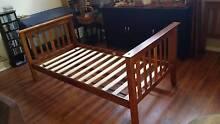 2 single woodgrain beds /bunk beds. Eaglehawk Bendigo City Preview