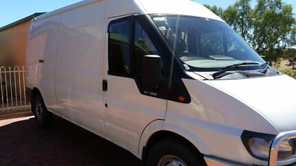 Ford Transit customised Camper Van low Kms, excellent condition Craigmore Playford Area Preview
