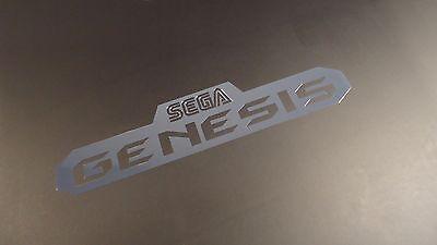 Sega Genesis Label / Aufkleber / Sticker / Badge / Logo 10,1 x 2,2cm [267]
