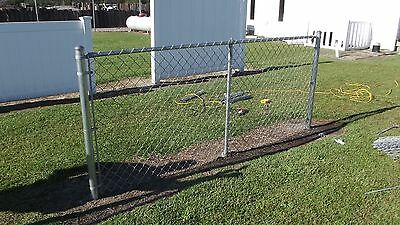 Extend-a-fence Chain Link Raise Your Fence 2 12 - 2 End Post Kit Add Height