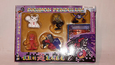 Digimon Pendulum 5 Figuren+Karte Original Bandai Japan 1999 Item 9939B