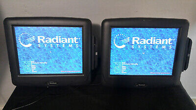Ncr Radiant Systems P1515 Touch Screen Pos Terminal 7752 Credit Card Readers