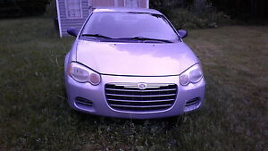 2006 CHRYSLER SEBRING SEDAN - PARTING OUT
