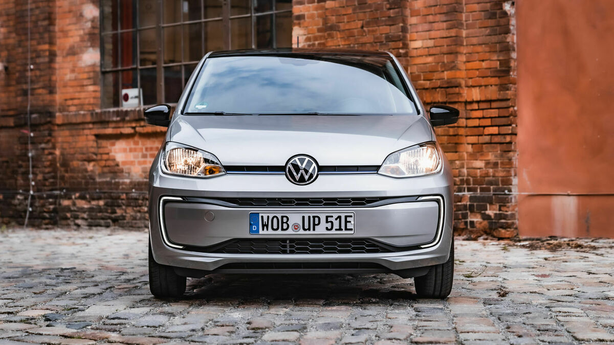 VW e-Up Frontansicht