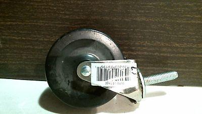 Shepherd 9195 3 Stem Caster Soft Rubber Wheel 38 Stem Free Shipping
