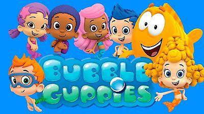Bubble Guppies # 10 - 8 x 10 - T Shirt Iron On - Bubble Guppies Fabric
