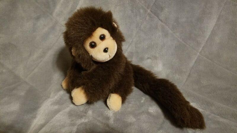 1987 Ty Mischief Brown Monkey  PLUSH KOREA Vintage Rare
