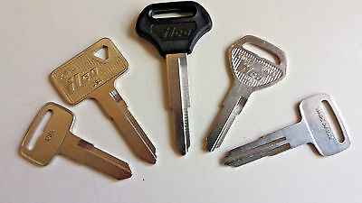 Kawasaki Motorcycle Atv New Replacement Keys Cut By Code Number Guaranteed  Work