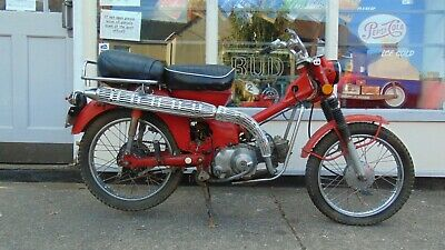 1969 HONDA CT90 TRAIL CT 90 PROJECT BIKE SCOOTER  US IMPORT NOVA C90 CUB CT110