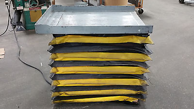Autoquip Hydraulic Lift Table Mn 24s25 2500 Lb Capacity 33x41 Table 480v 3ph