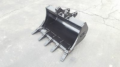 30 New Holland E27 Excavator Bucket With Coupler Pins
