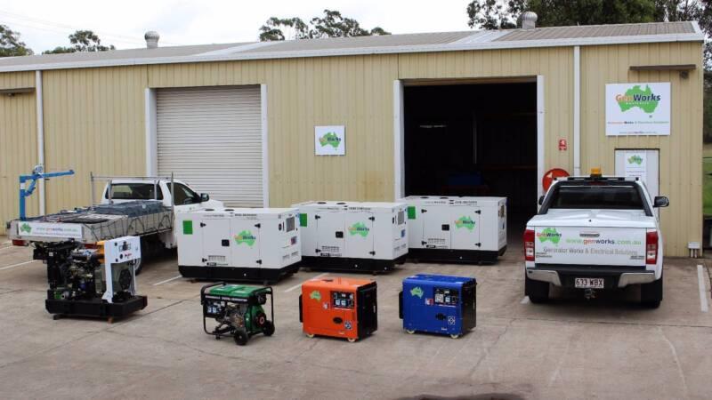 Diesel Generators 8kVA - 20kVA Single & Three Phase
