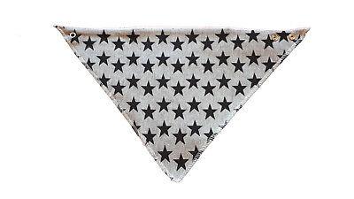 Babero bandana Quitababas Star Estrellas Negras