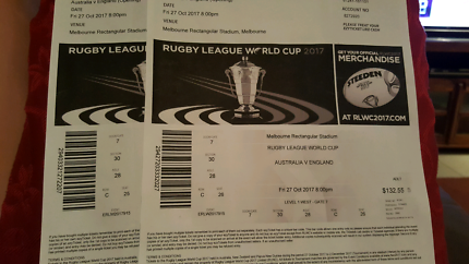 Rugby League World Cup 2017 Tickets