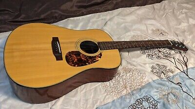 Sigma DM 2  Acoustic Guitar by C. F. Martin & Co. with CASE!