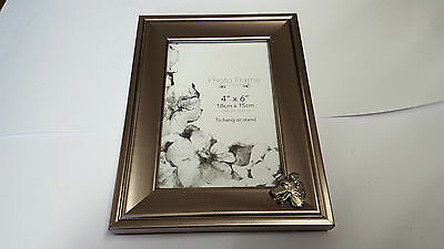 - Border Collie Head PP-D16 PICTURE FRAME SILVER 6X4 5x7 6x8 8x10 8x6  HANG/STAND