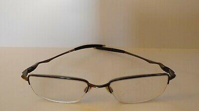 Authentic Oakley Drill Bit 0.5 Pewter OX3143-0251 RX Eyeglasses Frames 53-18-136