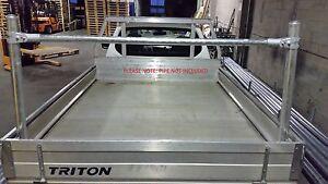 Ute / trailer Rack, ladder Rack, Component KIT , Stainless fixings, DIY. No Pipe